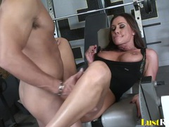 Gym slamming with the amazing cutie sky taylor videos