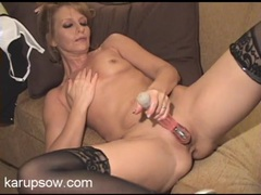 Tiny mature titties on this toy fucking babe movies at sgirls.net