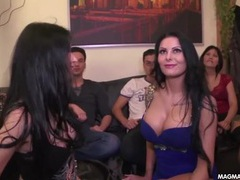 Hot girls go to a party and things get naughty movies at kilopics.net