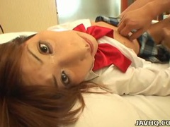 Slow thrusts into the cunt of a japanese teen tubes at japanese.sgirls.net