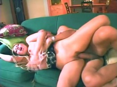 Latina rides a fat boner in her black panties tubes