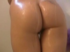 Soapy big titties on a babe in the shower movies at kilopics.net