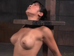 Asian slut drools after a hot mouth fucking tubes at sgirls.net