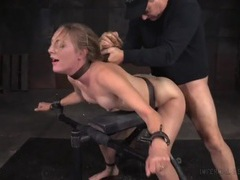Hard bdsm fucking makes the slave slut moan videos