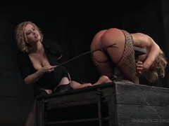 Sexy caning of her submissive ass and legs movies at find-best-hardcore.com