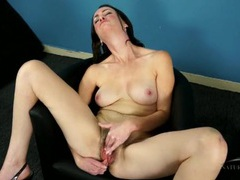 Rubbing her hard nipples makes this milf horny movies at sgirls.net