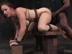 Sexy bdsm submissive used hard from both ends movies at freekilosex.com