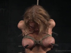 Pretty girl suffers pain in the bdsm dungeon videos