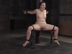 Electro shock pain makes the bound girl suffer movies at sgirls.net