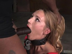 Thick metal collar around a face fucked whore movies at kilotop.com