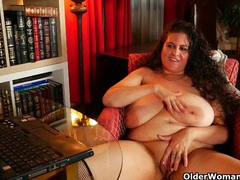 My favorite videos of big titted uk milf denise davies videos