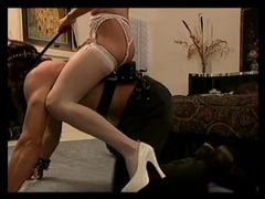 Mistress enjoys pony play with her submissive videos