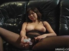 Buxom solo asian fondles her beautiful big tits tubes at asian.sgirls.net