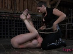 Inventive mistress finds fun ways to make her girl suffer videos