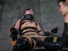 Rubber bdsm play with gorgeous veruca james videos