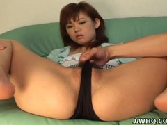 He exposes her asian pussy and turns her on tubes at asian.sgirls.net