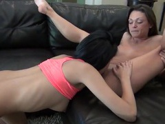 Sexy young lesbians worship pussy perfectly videos