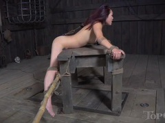 Busty mistress strapon fucks a bound sub slut movies at freekilomovies.com
