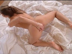 Tiny euro babe gina gerson masturbates and moans videos