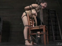 Mistress with a cane punishes the bound girl videos
