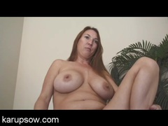 Freckled naked milf with hot curves turns on her pussy movies at freekiloclips.com