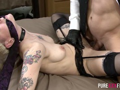 Sexy fetish bondage couple videos
