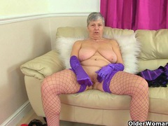 British granny savana still loves toying her old pussy movies at find-best-lingerie.com