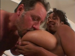 Groping huge black tits and pounding her pussy movies at sgirls.net
