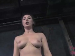Curvy girl works out until she is soaked in sweat movies at lingerie-mania.com