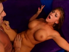Wild reverse cowgirl cock riding with a slut videos