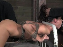 India summer roughly fucked in rope bondage movies at freekilomovies.com