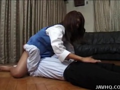 Domme asian girl sits on his face videos