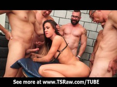 Shemale gabi group gangbang orgy movies at kilotop.com