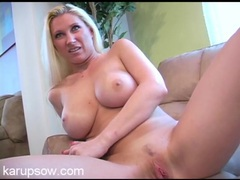 Milf devon lee happily gets naked for an interview videos