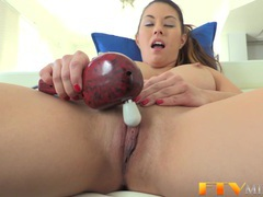 Milf beauty toys in pov videos
