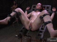Slut strapped to the table in a bdsm scene movies at dailyadult.info