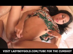Small titted ladyboy riding on cock movies at kilotop.com