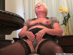 Best of british grannies: isabel, vikki and sandie 2 videos