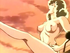 Naked hentai babe seduces sailors on a boat videos