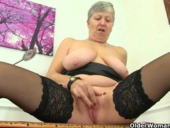 British granny trisha can't control her sexual desire movies at freekiloporn.com