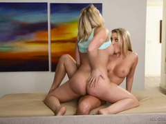 Kagney linn karter goes down on a blonde babe movies at sgirls.net