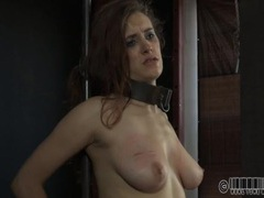 Suffering slave girl is worn out by the torture movies at sgirls.net