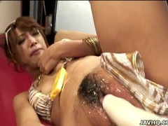 Oiled asian in a bikini gives her pussy pleasure tubes at asian.sgirls.net