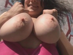 Big naked tits are even sexier in public tubes
