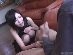 Subtitled cfnm japanese senzuri femdom leads to cumshot videos