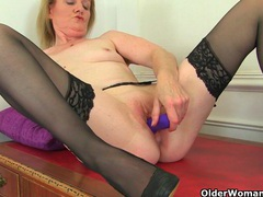 Best of british grannies: claire knight, clare cream and amy 2 videos