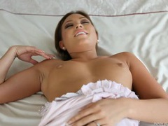 Sensual pov fuck of a shaved pussy girl videos