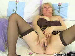 British grannies trisha and amanda fuck their dildos videos
