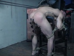 Bound guy tortured by his sexy mistress videos