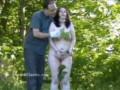 Outdoor stinging nettle bdsm videos